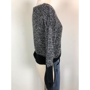 French Connection Sweaters - French Connection Grey and black Knitted sweater